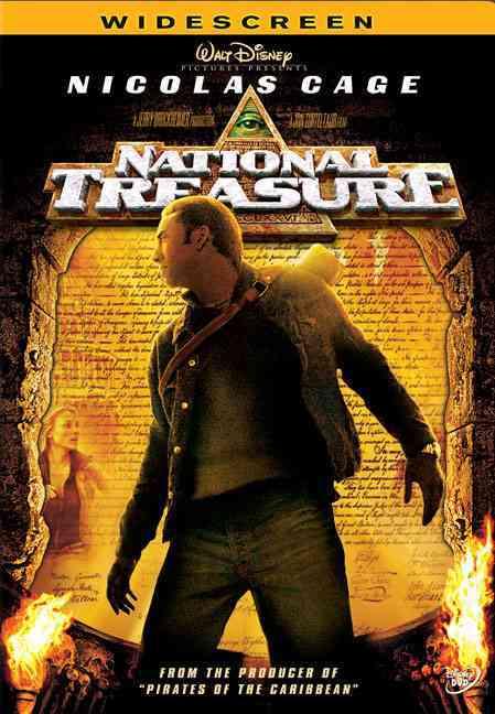 NATIONAL TREASURE BY CAGE,NICOLAS (DVD)