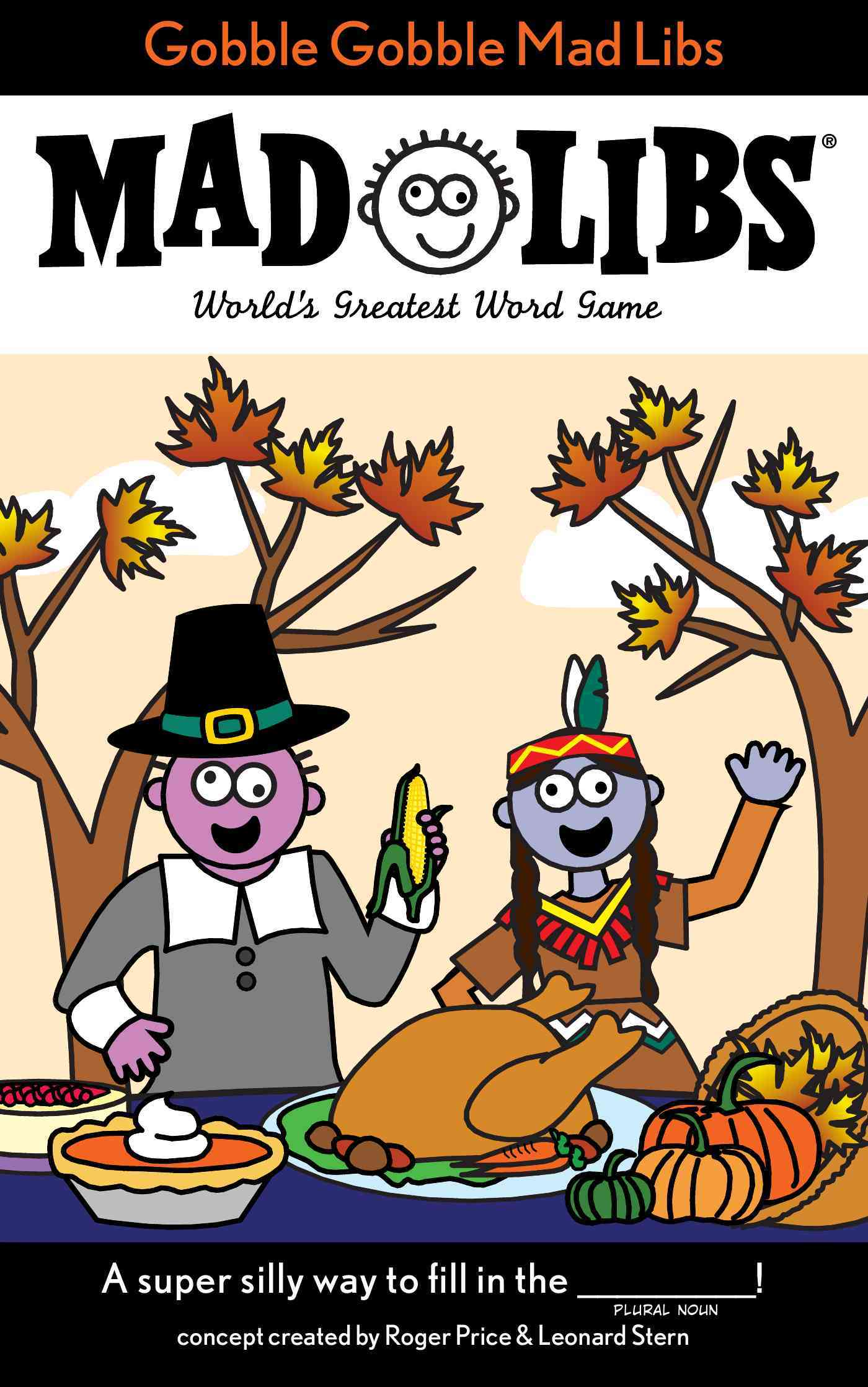 Gobble Gobble Mad Libs By Price, Roger (CRT)/ Stern, Leonard (CRT)